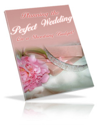 Pay for Planning The Perfect Wedding A Shoestring Budget with PLR