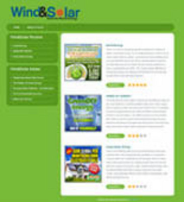 Pay for Review Site - Wind Solar with Private Label Rights