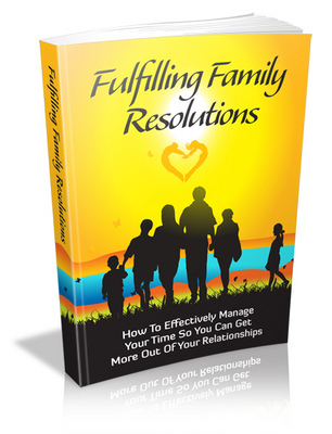 Pay for Fulfilling Family Resolutions with Master Resell Rights