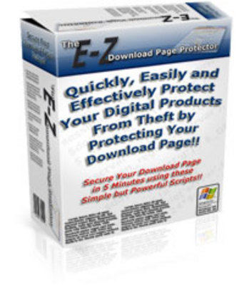 Pay for The EZ Download Page Protector with Master Resell Rights