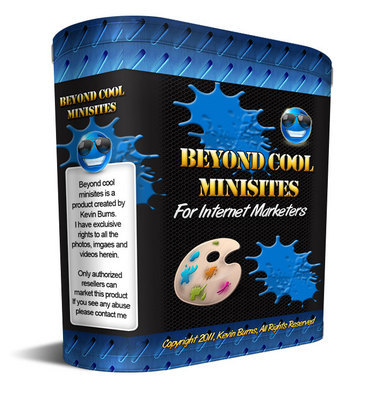 Pay for Beyond Cool Minisites With Master Resell Rights