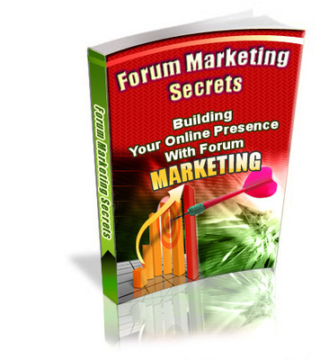 Pay for Forum Marketing Secrets With Private Label Rights