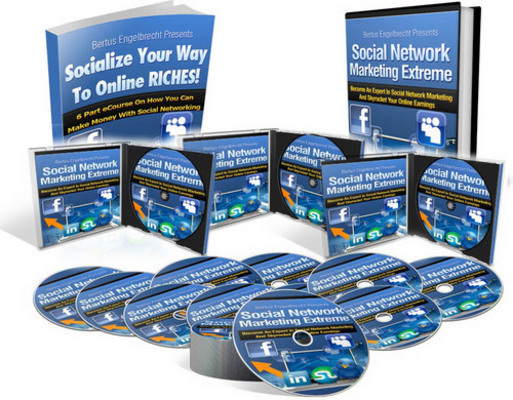 Pay for Social Network Marketing Extreme with MRR