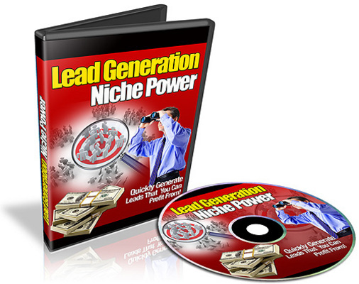 Pay for Lead Generation Niche Power with Resell Rights