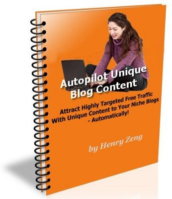 Pay for Unique Content Traffic with Master Resell Rights