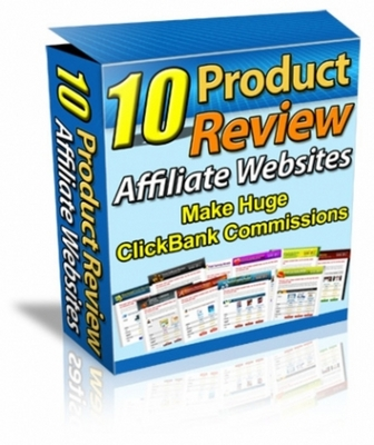 Pay for 10 Products Review Affiliate Websites with MRR