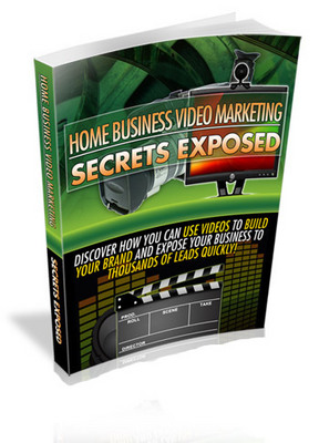 Home Business Video Marketing Secrets Exposed With Mrr