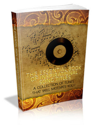 Pay for The Essential Book of Inspirational Song Titles with MRR