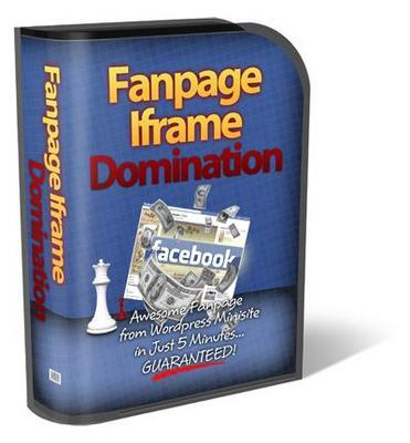 Pay for Fanpage Iframe Domination  Fanpage Theme with MRR