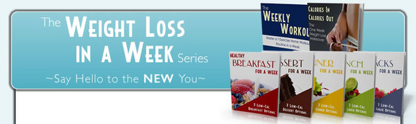 Pay for Weight Loss In A Week Series 7 Private Label Rights  Ebooks