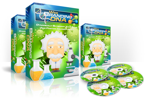Pay for Web Branding DNA Instruction Video with Master Resell Rights