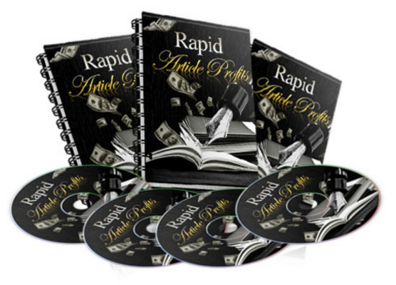 Pay for Rapid Article Profits  Ebook & Instruction Video Set