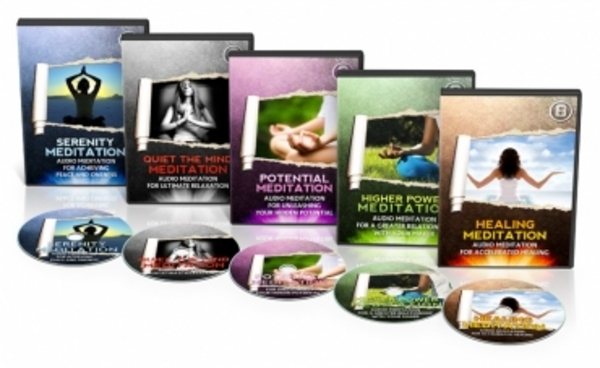 Pay for Guided Meditation Audio Series with MRR