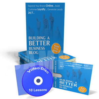 Pay for Build a Better Business Blog  Instruction Videos & Ebook MRR