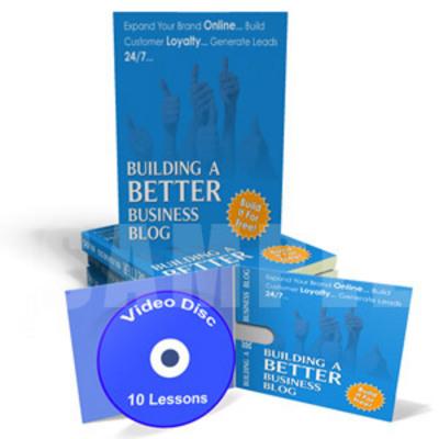 Pay for Build a Better Business Blog  Instruction Videos & Ebook MRR