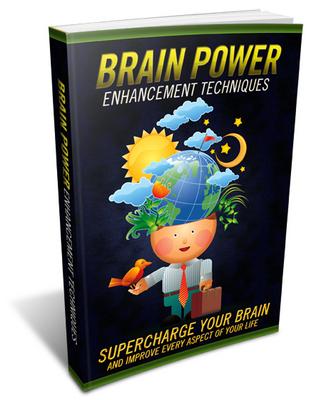 Pay for Brain Power Enhancement Techniques