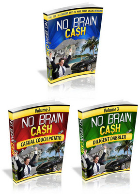 Pay for No Brain Cash with Master Resell Rights