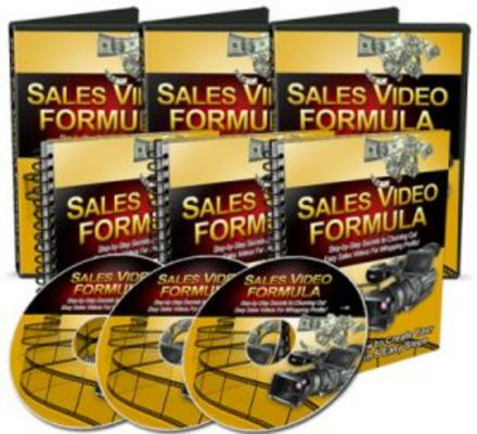 Pay for Sales Video Formula Video Marketing  with MRR