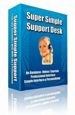 Pay for Super Simple Support Desk with RR & FREE BONUS