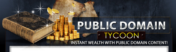 Pay for Public Domain Tycoon  MRR Ebook & Upgrade Video + Audio gift