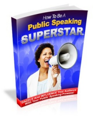 Pay for How To Be A Public Speaking Superstar with MRR-new ebook