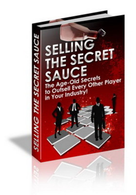 Pay for Selling The Secret Sauce with Resell Rights
