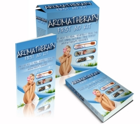 Pay for Aromatherapy First Aid Kit with Master Resell Rights