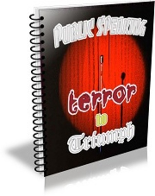 Pay for Public Speaking Terror To Triumph with PLR