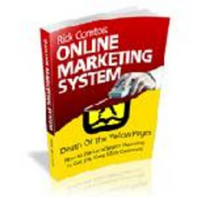 Pay for Online Marketing System with Master Resell Rights