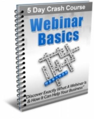 Pay for Webinar Basics eCourse with PLR