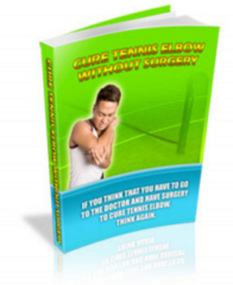Pay for Cure Tennis Elbow Without Surgery with MRR