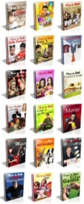 Pay for 18 Ebooks About How To Sell