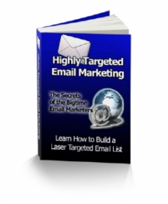 Pay for Highly Targeted Email Marketing with PLR