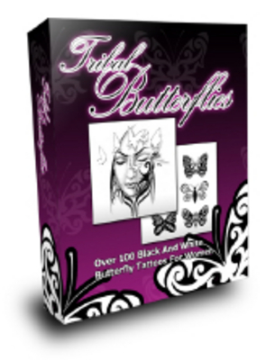Pay for Tribal Butterflies Tattoos with MRR