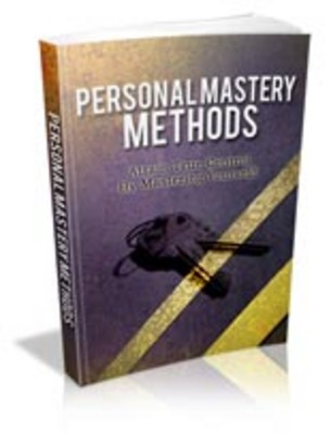 Pay for Personal Mastery Methods with Master Resell Rights