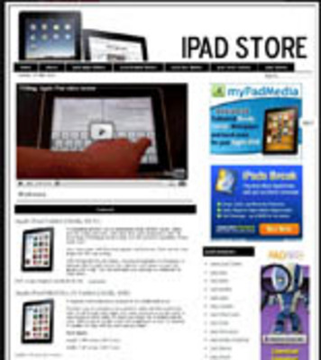 Pay for Ipad Pre-Loaded Website