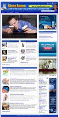 Sleep Apnea Website With Plr