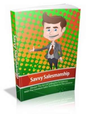Savvy Salesmenship With Mrr