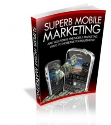 Pay for Superb Mobile Marketing with Master Resell Rights