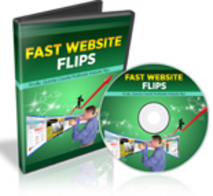 Pay for Fast Website Flips Instruction Video with RR