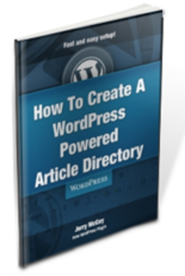 Pay for How To Create A WordPress Powered Article Directory with MRR