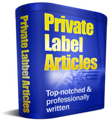Pay for 105 Recipe Articles with Private Label Rights