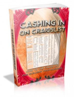 Pay for Cashing In On Craigslist with Master Resell Rights