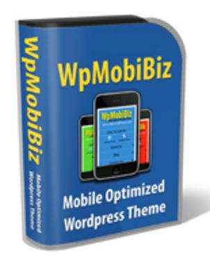 Pay for Wordpress Mobile Biz Theme and Bonus