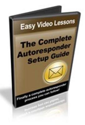 Pay for Complete Autoresponder Setup Guide Video Tutorial