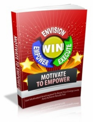 Pay for Motivate To Empower with Master Resell Rights