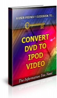 Pay for Convert DVD to Ipod Video-Brandable Unrestricted PLR Ebook