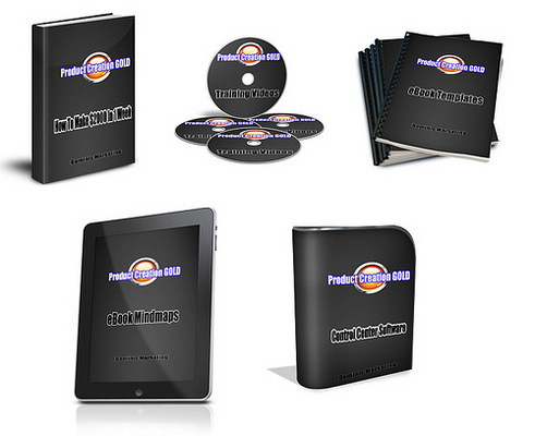 Pay for Product Creation Gold - Videos Software Ebook with RR