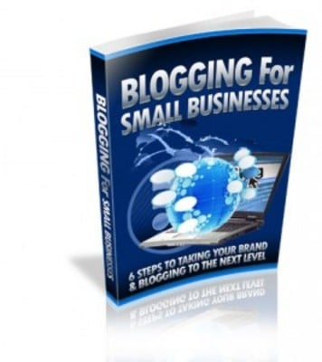 Pay for Blogging for Small Businesses - Package Audio & Pdf with MRR