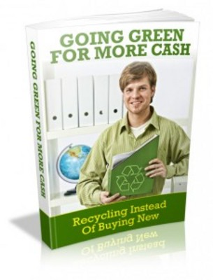 Pay for Going Green For More Cash with MRR & Giveaway Rights